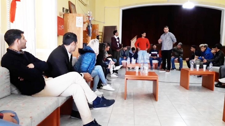 Group Therapy with Refugee Students