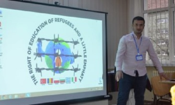 Urfa Teachers talk about the problems of refugee students in Romania